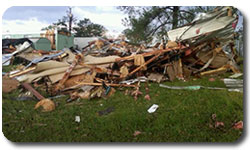 Hurricane Irene Damage in Raleigh Durham NC - Aug 28, 2011